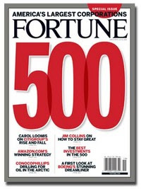 Top Fortune 500 companies list, rank