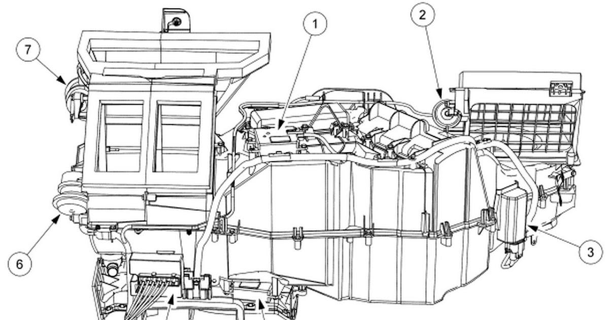 2001 Ford Escape Radiator Hose Diagram