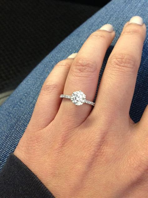 34 best images about Solitaire Engagement Rings on