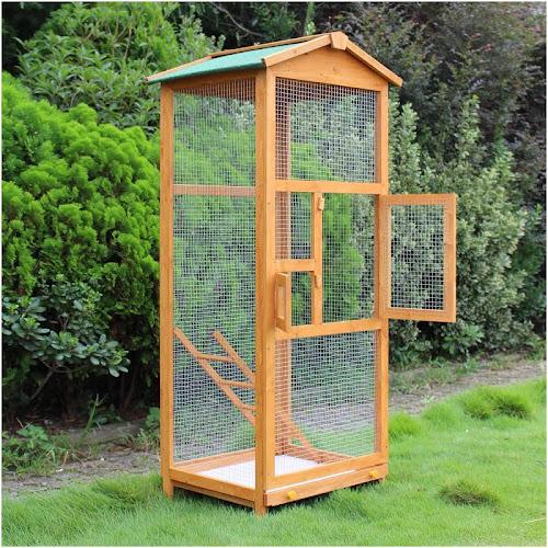 """Pawhut 65"""" Aviary Bird Cage"""