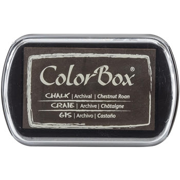 Clearsnap Colorbox CHESTNUT ROAN Brown Chalk Ink Pad 710036