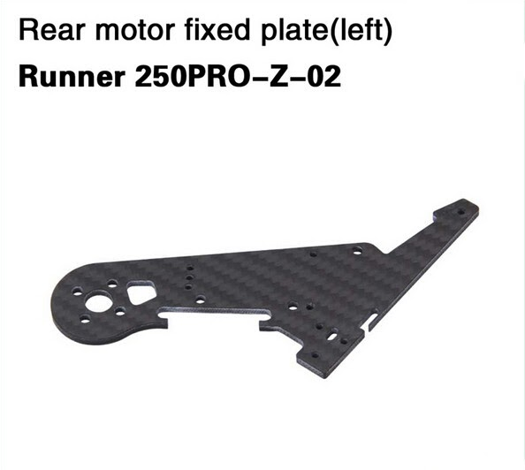 Walkera Runner Rear Motor Fixed Plate 250PRO-Z-02 Runner 250PRO-Z-03 for Walkera Runner 250 PRO GPS RC Racer Quadcopter Drone