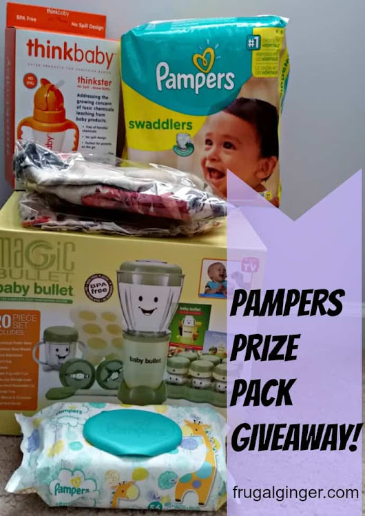 Help Make Life #BetterForBaby with Pampers - The Frugal Ginger