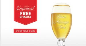 chalice 300x161 Free Engraved Chalice From Stella Artois