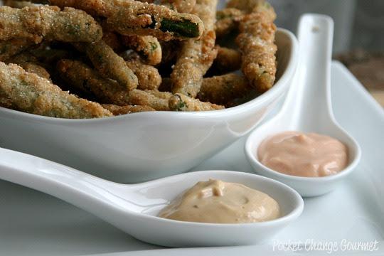 Fried Green Beans Pocket Change Gourmet
