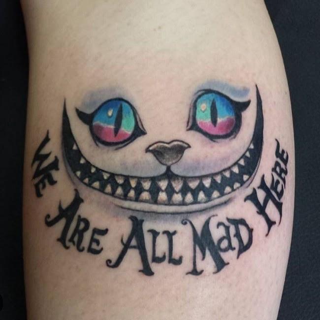 105 Fairy Alice In Wonderland Tattoo Designs Ideas 2018