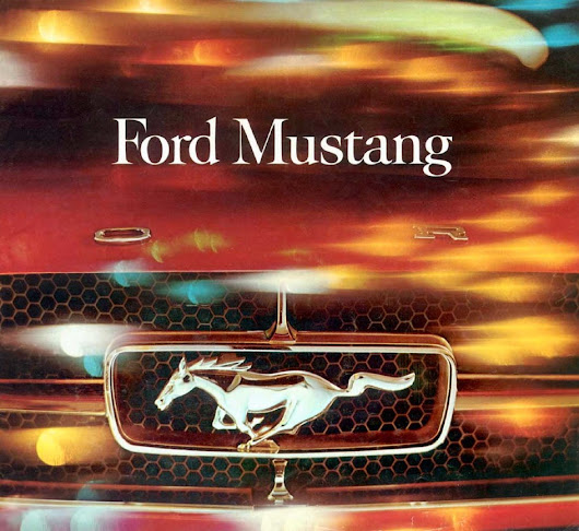 1964 Ford Mustang Brochure