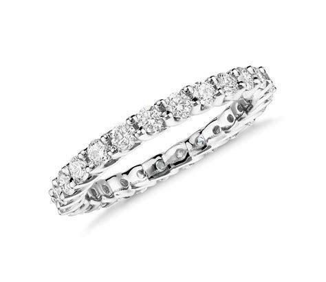 Monique Lhuillier Crown Diamond Eternity Ring in Platinum