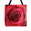 'Crimson Rose' Tote Bag by Marywilloughby
