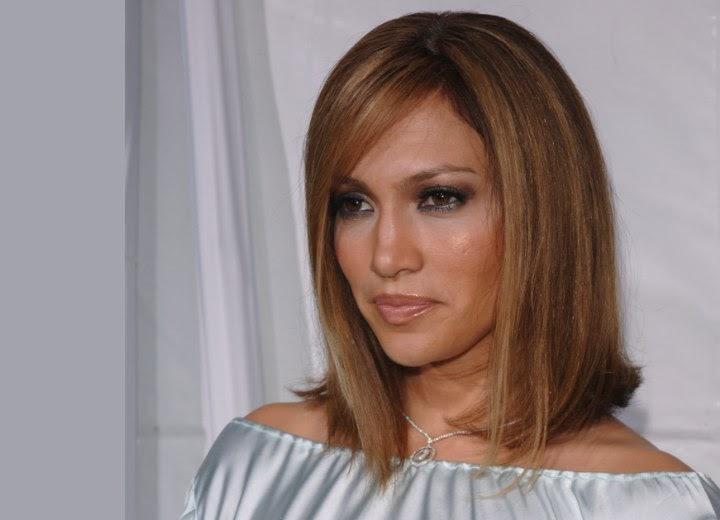 Medium Length Brown Hair With Blonde Highlights