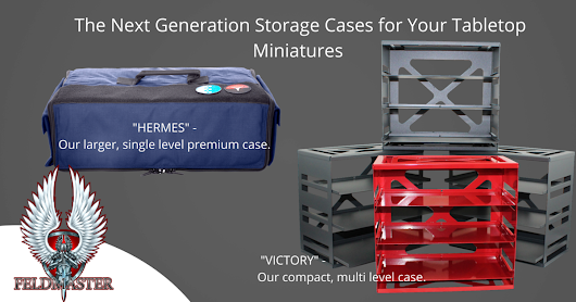 CLICK HERE to support Feldmaster: Revolutionary miniatures storage case