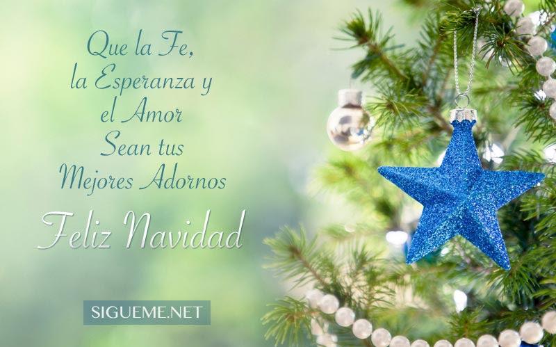 Fe Esperanza Y Amor En Navidad Navidad