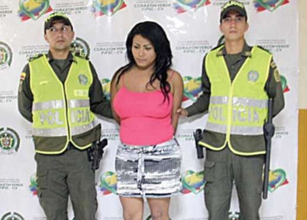 Colombian escaped convict Giovanni Rebolledo was recaptured despite having breast implants and dressing as a woman