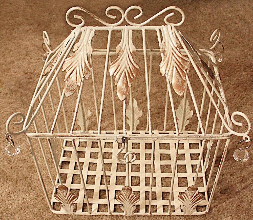 Antique Birdcage/Giftbox