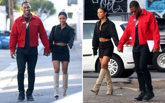 Former NFL star Victor Cruz confesses he 'loves' Karrueche Tran enough to marry her