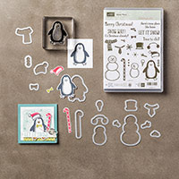Snow Place Photopolymer Bundle by Stampin' Up!
