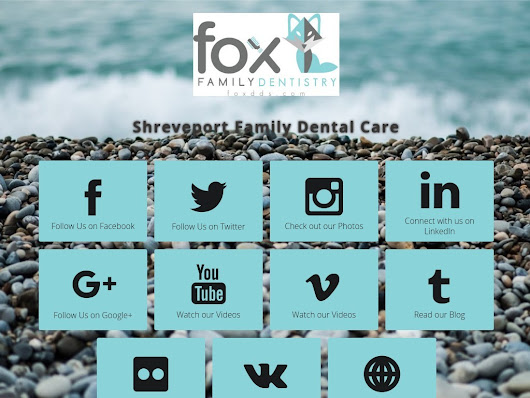Follow BestShreveportDentist on social media