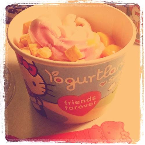 Hello, dragonfruit yogurt!