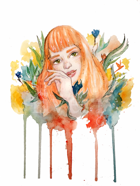 danielasirotkin : I will make a watercolor illustration for $10 on www.fiverr.com