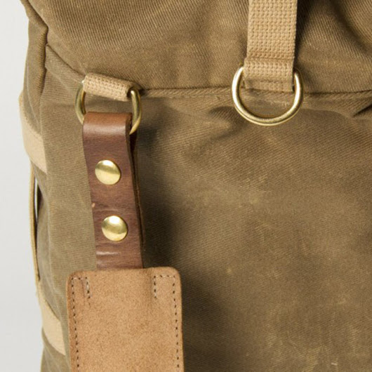 Collected Works Co. Military Duffle Backpack