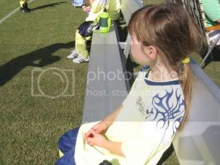 Ashlyne at the first game