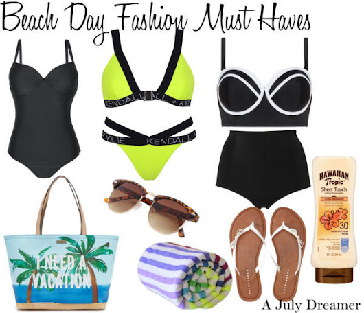 Beach Day Fashion Must Haves ⋆ A July Dreamer