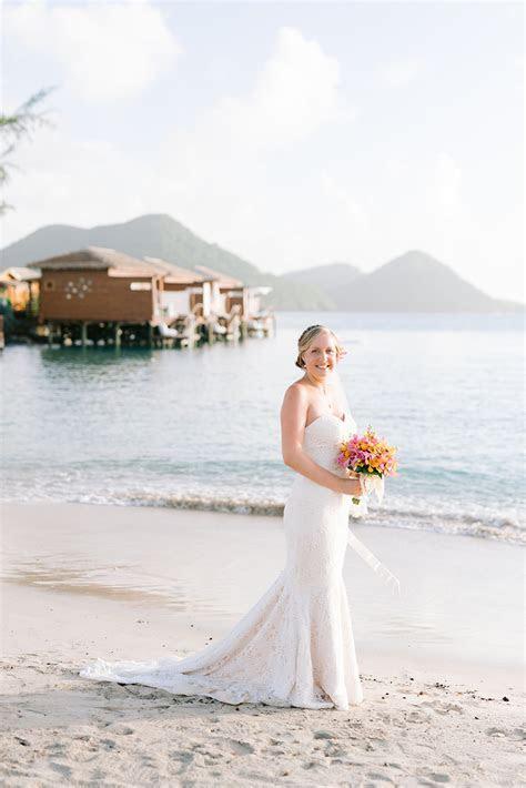 A Tropical Beach Wedding in St. Lucia   The Destination
