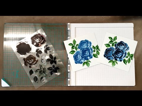 Precision Press und Tutorial für Layered Stamps