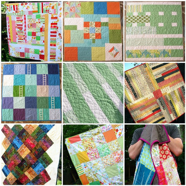 finished quilts 2012