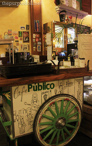 Cafe Publico Counter