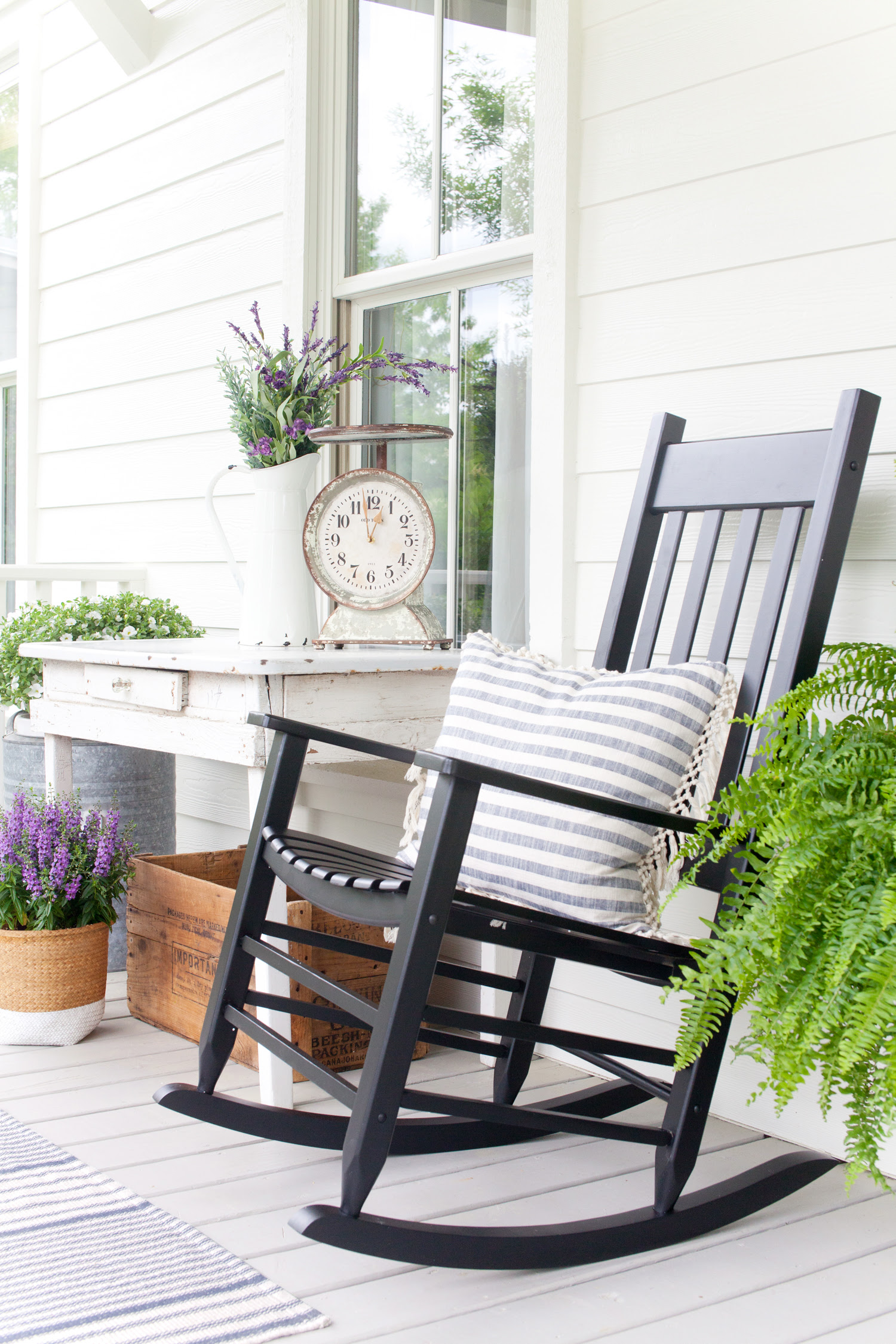 Front Porch Decorating The Lettered Cottage Southern Style