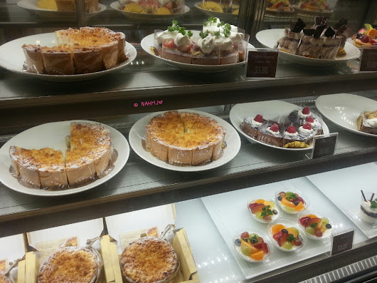 Delicius Pasticceria In The Newly Re-opened Lau Pa Sat