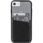 Case-Mate Cell Phone Wallet Pockets - Black, Adult Unisex