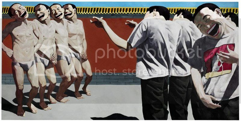 Art du rire Yue Minjun