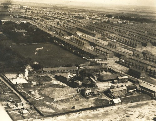 Charlotte Pit, Benwell around 1935