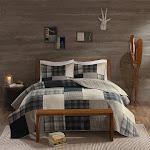 Woolrich Winter Hills Oversized Cotton Quilt Set - WR14-1728 King/Cal King