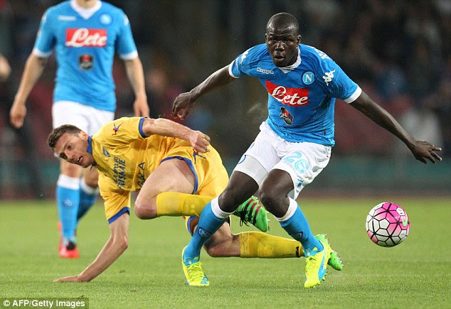 Arsenal and Chelsea will step up their interest in Kalidou Koulibaly if United pip the London duo to Manolas