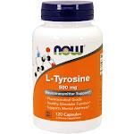 Now Foods L-Tyrosine 500 mg - 120 Capsules