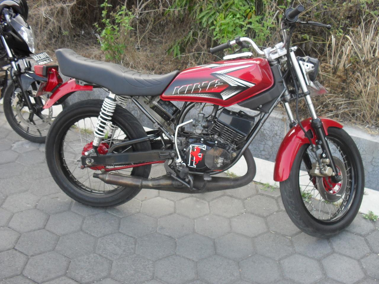 Warna Hitam Motor Rx King Blogtugu