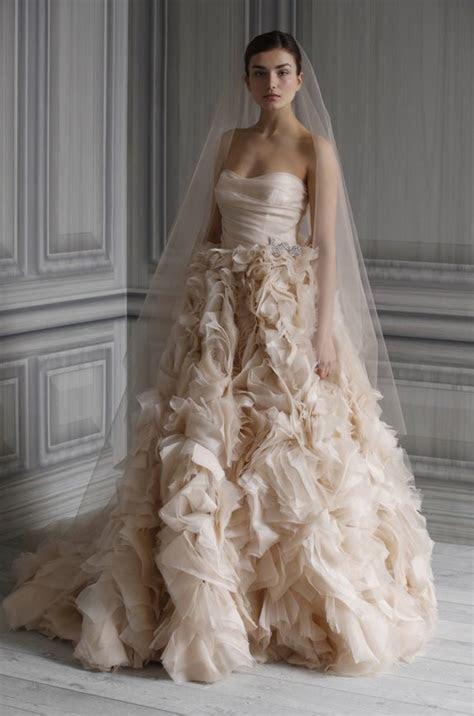 Monique Lhuillier Wedding Dresses: Pure Romance, Spring