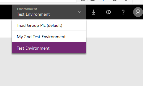 PowerApps & Flow – The Basics – Using multiple environments