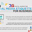 Top 8 Social Media Etiquette for Business (Infographic)