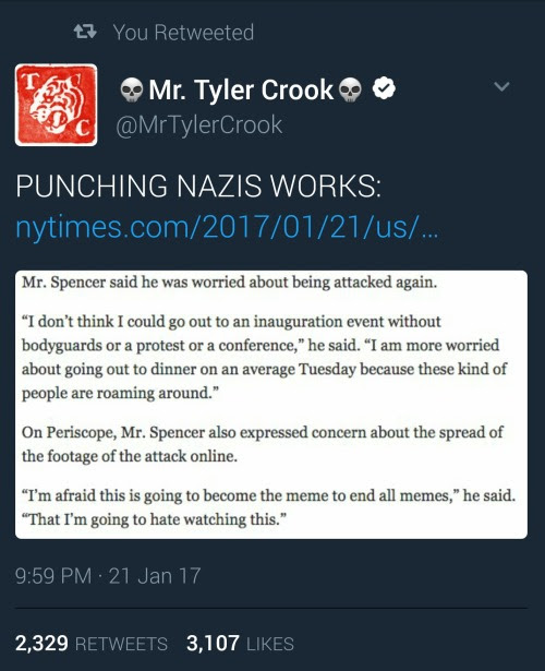 "nilvoid: ""assaulting Nazis, recording it, and making them watch their assault over and over again as praxis """