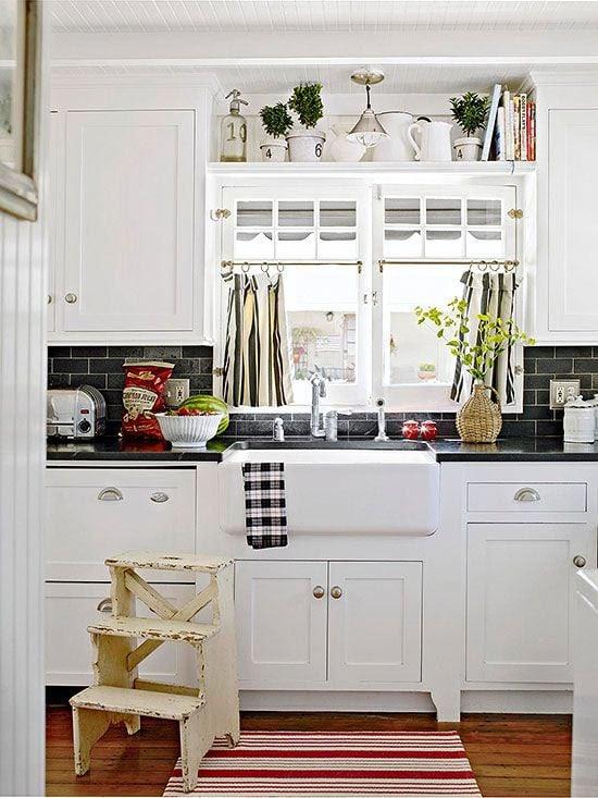 19 kitchen cabinet design over window