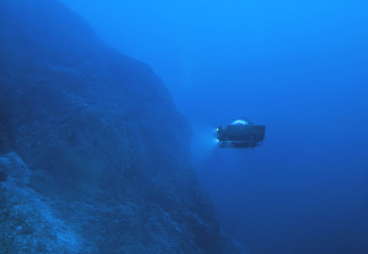 Journeying to the deep - Oceanographic