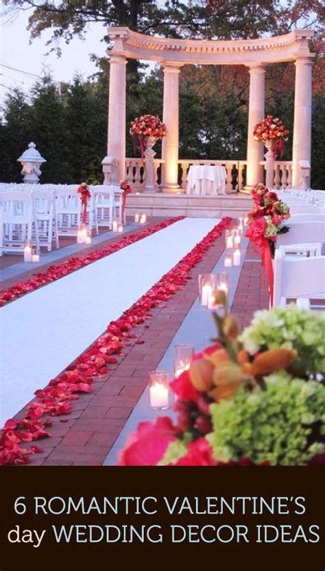 6 Romantic Valentine?s Day Wedding Décor Ideas #2573587