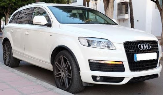 2009 Audi Q7 4.2 FSi S-Line automatic 7 seater 4x4 SUV - Cars for sale in Spain