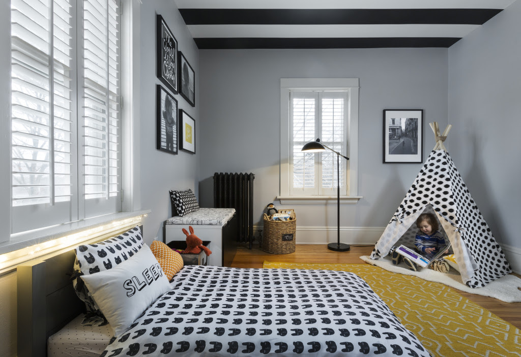 Graphic and Modern Toddler Boy Room - Project Nursery