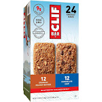 Clif Energy Bar, Chocolate Chip and Crunchy Peanut Butter - 24 count, 57.6 oz box