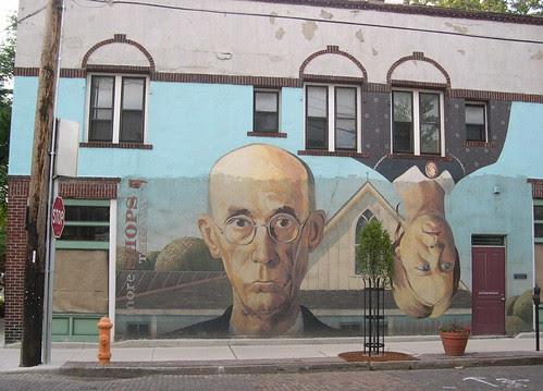 Mural on East Lincoln Street